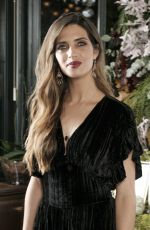 SARA CARBONERO Promotes Agatha Paris Saudade in Madrid 11/15/2017