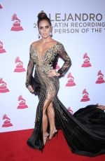 SARA CORRALE at 2017 Latin Recording Academy Person of the Year Awards in Las Vegas 11/15/2017