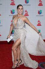 SARA CORRALES at Latin Grammy Awards 2017 in Las Vegas 11/16/2017