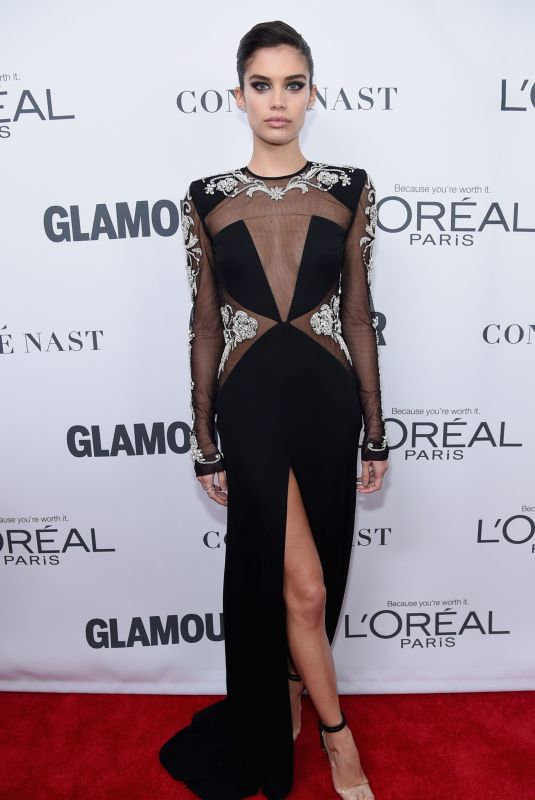 SARA SAMPAIO at Glamour Women of the Year Summit in New York 11/13/2017