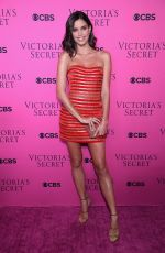 SARA SAMPAIO at Victoria's Secret Angels Viewing Party 2017 in New York 11/28/2017