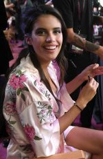 SARA SAMPAIO on the Backstage at 2017 VS Fashion Show in Shanghai 11/20/2017