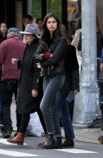 SARA SAMPAIO Out for Lunch in New York 11/04/2017