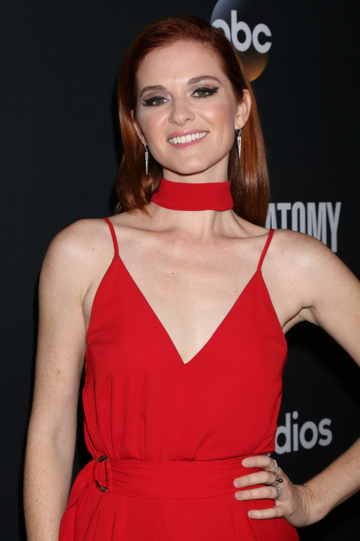 SARAH DREW at 300th Grey\'s Anatomy Episode Celebration in Hollywood ...