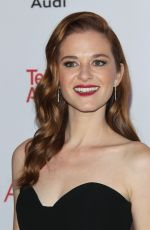 SARAH DREW at Television Academy Hall of Fame Induction in Los Angeles 11/15/2017