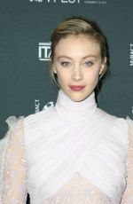 SARAH GADON at a Ciambra Screening at Cinema Italian Style in Los Angeles 11/16/2017