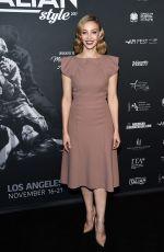 SARAH GADON at Cinema Italian Style Kick-off and Inaugural Cinecitta Key Award at AFI Fest 2017 in Hollywood 11/15/2017