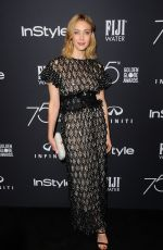 SARAH GADON at HFPA & Instyle Celebrate 75th Anniversary of the Golden Globes in Los Angeles 11/15/2017