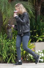 SARAH MICHELLE GELLAR Out for Coffee in Santa Monica 10/31/2017