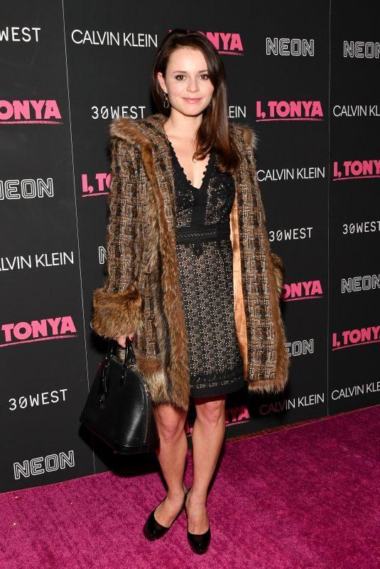 SASHA COHEN at I, Tonya Premiere in New York 11/28/2017