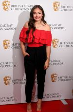 SAVANNAH BAKER at Bafta Children's Awards 2017 in London 11/26/2017