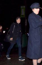 SCARLETT JOHANSSON Night Out in New York 11/20/2017