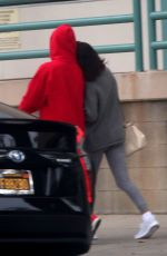 SELENA GOMEZ and Justin Bieber Out in Los Angeles 11/01/2017
