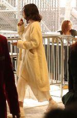 SELENA GOMEZ Arrives at American Music Awards Practice in Los Angeles 11/17/2017