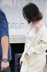 SELENA GOMEZ Arrives at Microsoft Theater in Los Angeles for AMA Rehearsal 11/17/2017