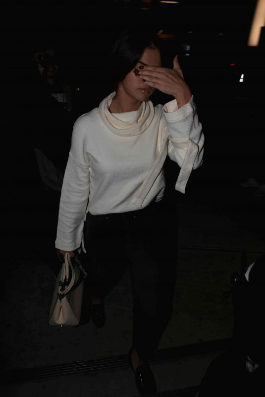 SELENA GOMEZ Arrives to Church Service in Los Angeles 11/03/2017