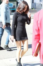 SELENA GOMEZ Heading to Hillsong Church in Los Angeles 11/04/2017