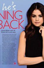 SELENA GOMEZ in Who Magazine, November 2017 Issue