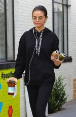 SELENA GOMEZ Leaves Alfred Coffee in Studio City 11/03/2017