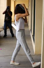 SELENA GOMEZ Leaves Pilates Class in West Hollywood 11/11/2017