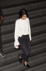 SELENA GOMEZ Night Out in Los Angeles 11/03/2017