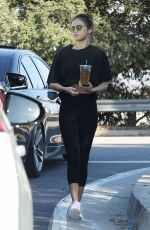 SELENA GOMEZ Out for Iced Tea in Los Angeles 11/05/2017
