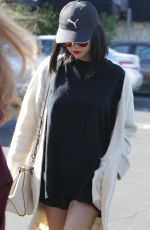 SELENA GOMEZ Out for Sushi in Los Angeles 11/18/2017