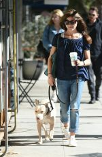 SELMA BLAIR Heading to a Hair Salon in Los Angeles 11/08/2017