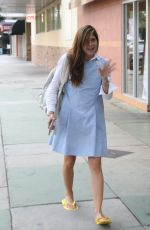 SELMA BLAIR Heading to a Nail Salon in Studio City 10/31/2017