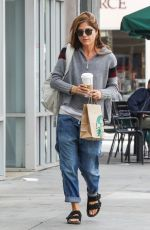 SELMA BLAIR Out and About in Los Angeles 11/01/2017
