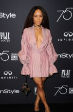 SERAYAH MCNEILL at HFPA & Instyle Celebrate 75th Anniversary of the Golden Globes in Los Angeles 11/15/2017
