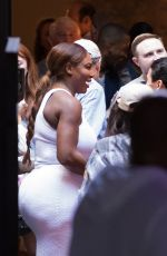 SERENA WILLIAMS and Alexis Ohanian Out in New Orleans 11/17/2017