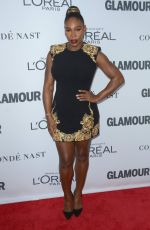 SERENA WILLIAMS at Glamour Women of the Year Summit in New York 11/13/2017