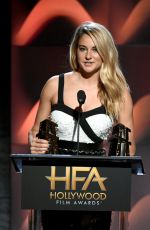 SHAILENE WOODLEY at 2017 Hollywood Film Awards in Beverly Hills 11/05/2017