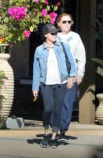 SHANNEN DOHERTY Out for Lunch with Her Mom in Malibu 11/16/2017
