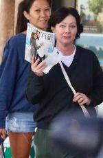 SHANNEN DOHERTY Out Shopping in Malibu 11/09/2017
