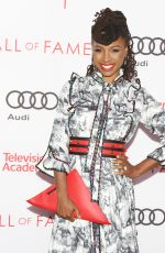 SHANOLA HAMPTON at Television Academy Hall of Fame Induction in Los Angeles 11/15/2017