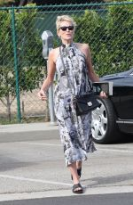 SHARON STONE Out and About in Beverly Hills 11/11/2017