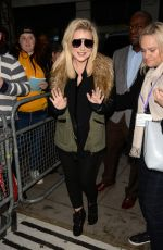 SHERIDAN SMITH Leaves BBC Radio 2 in London 11/10/2017