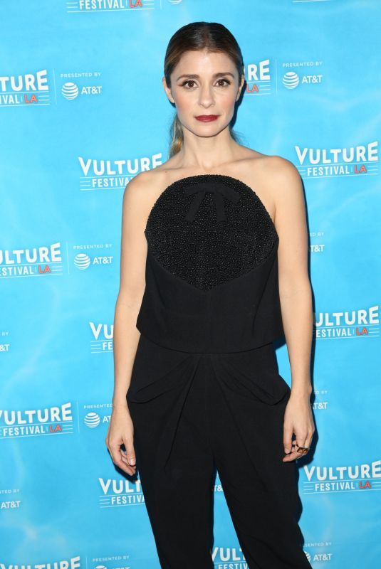 SHIRI APPLEBY at Scandal Panel at Vulture Festival in Los Angeles 11/18/2017