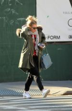 SIENNA MILLER Out and About in New York 11/21/2017
