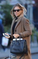 SIENNA MILLER Out in New York 10/31/2017