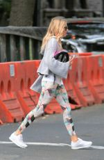 SIENNA MILLER Out in New York 11/02/2017