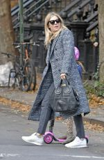 SIENNA MILLER Out in New York 11/27/2017