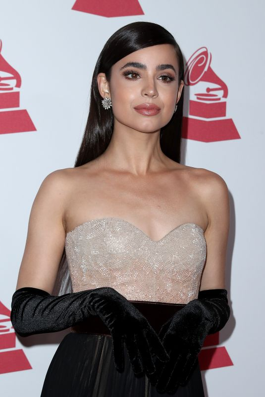 SOFIA CARSON at 2017 Latin Recording Academy Person of the Year Awards in Las Vegas 11/15/2017
