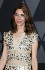 SOFIA COPPOLA at AMPAS 9th Annual Governors Awards in Hollywood 11/11/2017