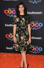 SOFIA ESPINOSA at Coco Premiere in Los Angeles 11/08/2017