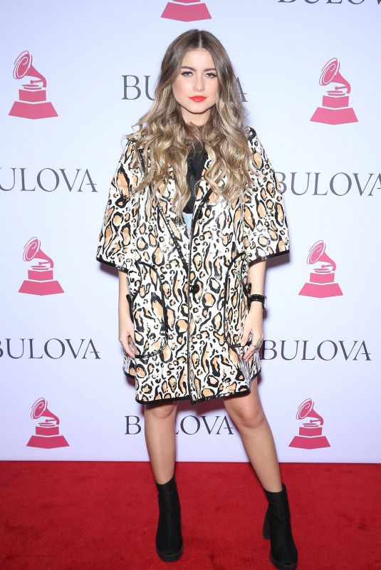 SOFIA REYES at 2017 Latin Recording Academy Person of the Year Awards in Las Vegas 11/15/2017
