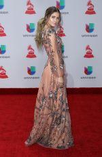 SOFIA REYES at Latin Grammy Awards 2017 in Las Vegas 11/16/2017