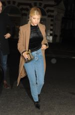 SOFIA RICHIE and LOTTIE MOSS at C Restaruant in London 11/14/2017
